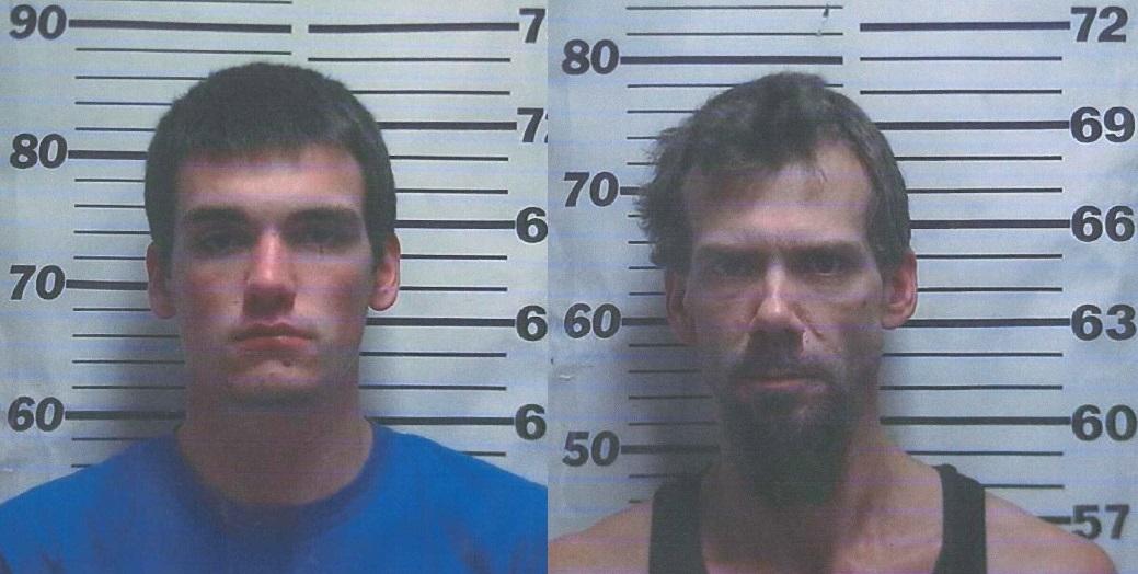 (Left) Brayden L. Aldredge, (Right) Adam J. Pipkins.