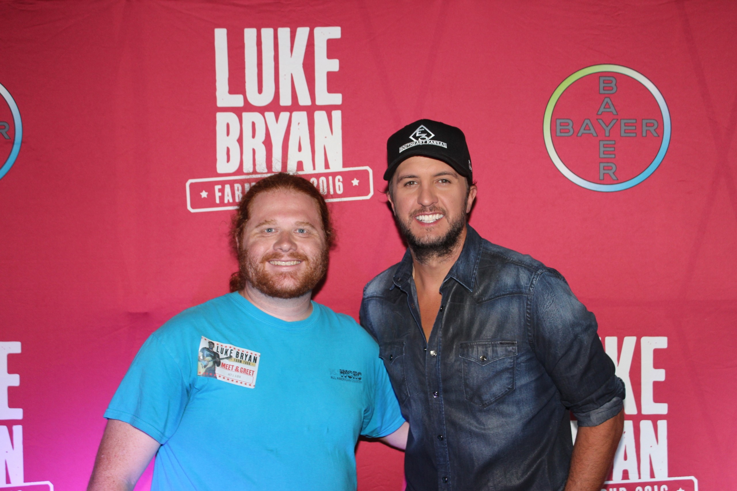 Great success with luke bryan farm tour in effingham effingham radio the luke bryan farm tour hit effingham saturday night with all the excitement that comes with it first of all thanks to everyone who came out and stopped m4hsunfo