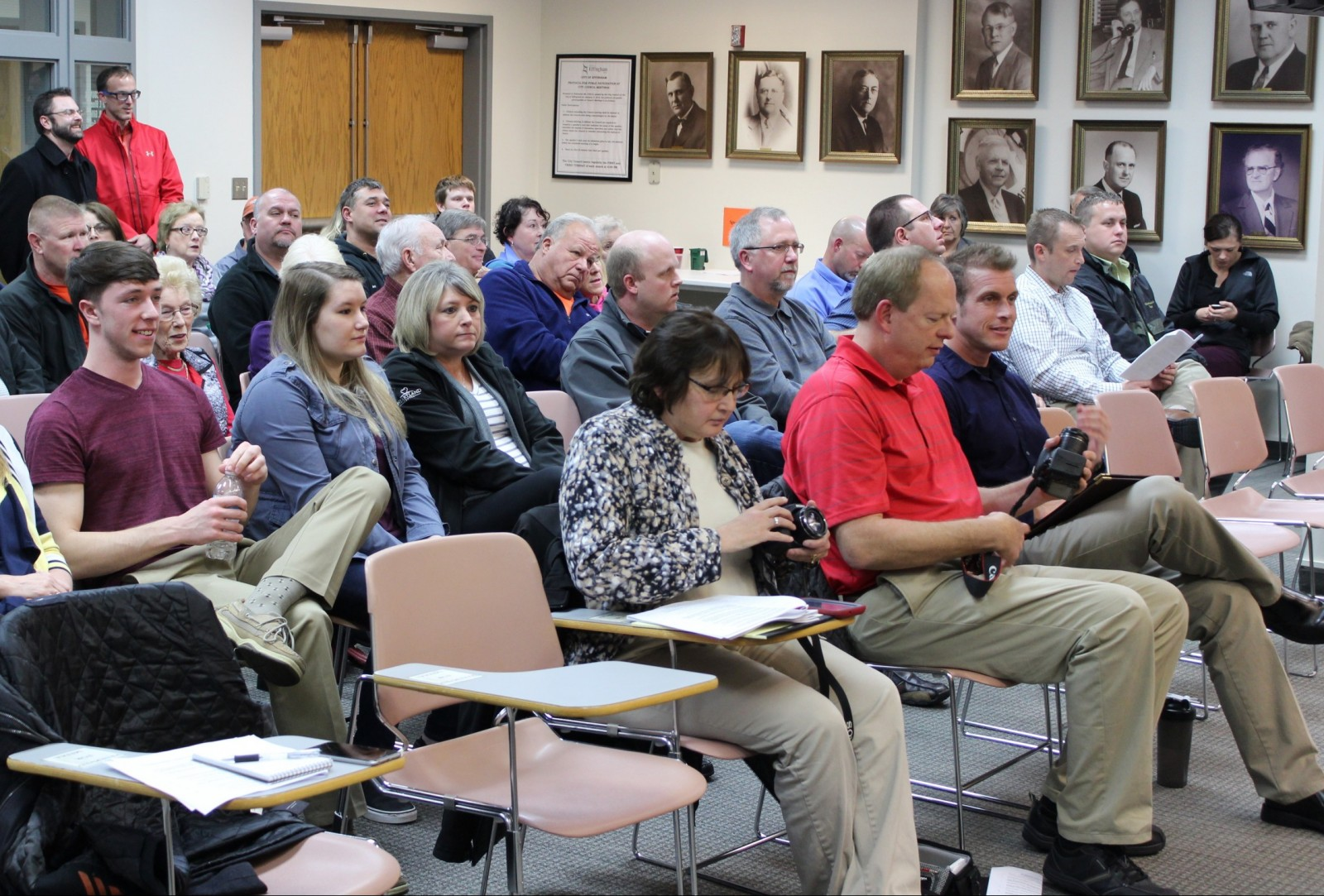 There a big turnout for the Effingham City Council Meeting Tuesday night.