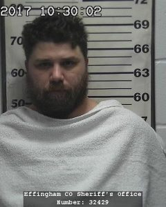Dennis Moulton was arrested Sunday on a charge of Criminal Predatory Sexual Assault of a Child.
